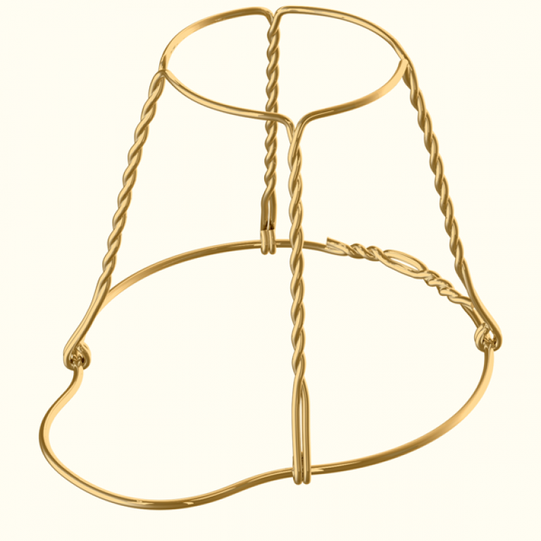 Мюзле без плакетки и плавающим кольцом (скрутка внутрь)